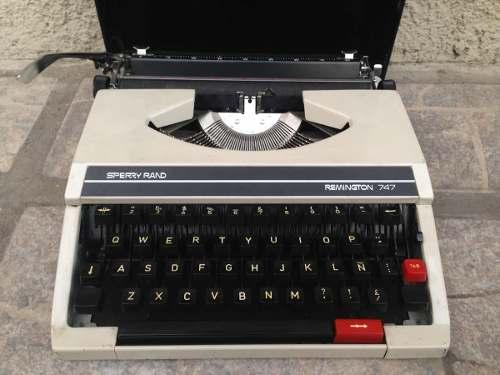Máquina De Escribir Remington 747. Sperry Rand.