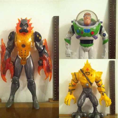 Muñecos De Acción 30cm Elementor Para Niños Max Steel