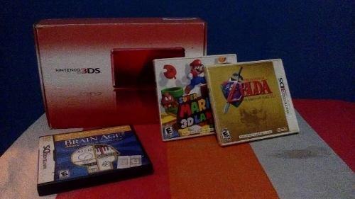 Nintendo 3ds + 2 Juegos + Memoria Sd 16gb + Regalo
