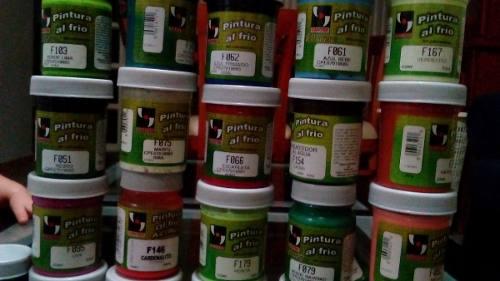 Pinturas Al Frio 60cc Colores Variados