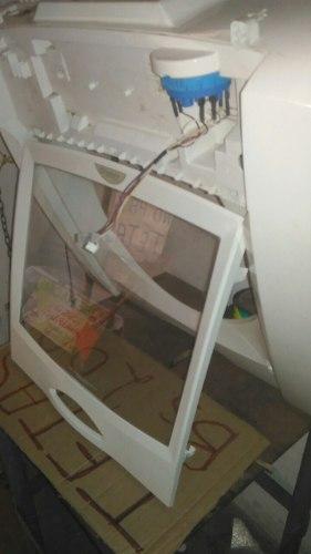 Tapa Con Vidrio Templado Lavadora Mabe 13 Kilos