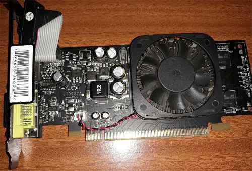Tarjeta De Video Nvidia Geforce gs 512mb Ddr2 Pci-e Vga