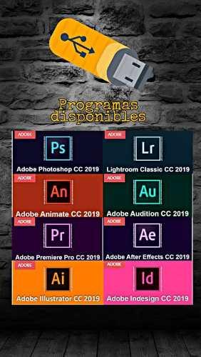 Adobe , Ps, Filmora  Full Y Otros. Win O Mac.