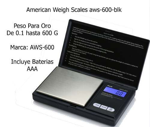 Balanza Peso Digital 0.1 A 600g Joyero Oro Joyas Original12v