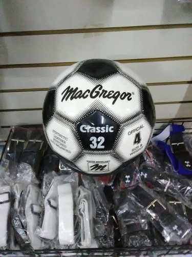 Balón Fútbol Campo #4 Macgregor Nuevo 25 Verdes