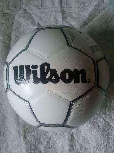 Balon Futbol Wilson Nitro H Laminado Blanco/negro