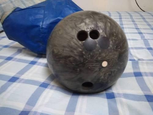 Bola De Bowling O Boliche Marca Columbia 300 Usada Como Nuev