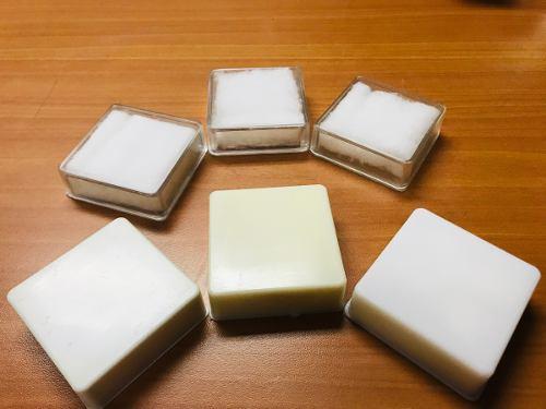Cajas Plásticas Para Bisutería 6x6 X 2 De Alto