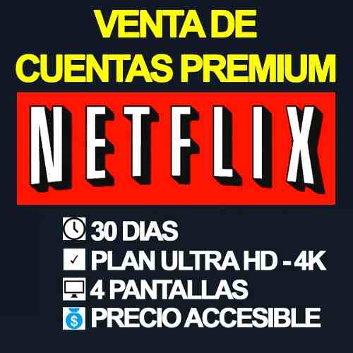 Cuente Neflix One-month-4 Screens