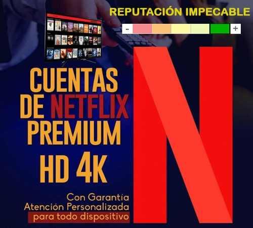Cuente Neflix Origina| | Premium | Ultra Hd 4k | Anticaida