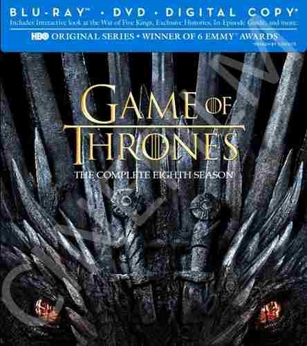 Game Of Thrones Series Bluray Juego De Tronos