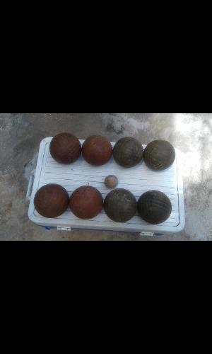 Juego Completo De Bolas Criollas Usado En Buen Estado