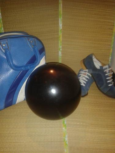 Juego De Bola De Bowling, Zapatos Y Bolso