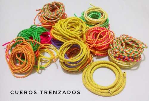Material Para Bisutería Cueros - Cordones - Hilo Chino