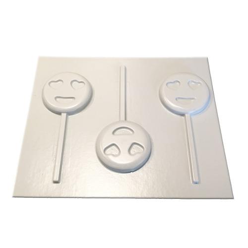Moldes De Plástico Para Bombones Chocolate Emoji