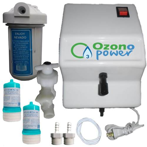 Planta Ozono Power Filtro De Agua 2 Cartuchos Oferta