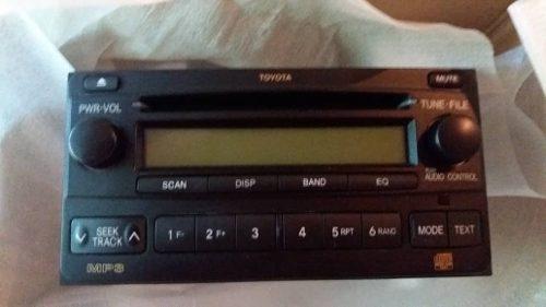 Radio Reproductor Toyota Original 4runner Hilux Fortuner