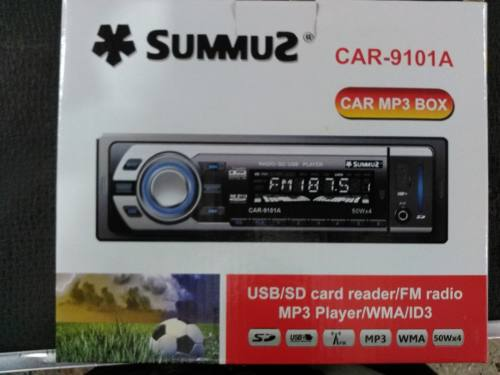 Reproductor De Carro Mp3 Usb Sd Lcd Aux Control