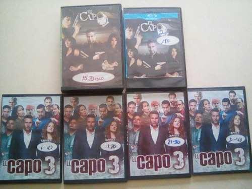 Serie El Capo 1, 2 Y 3