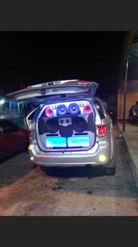 Sonido Profecional Para Carro Planta Bajos Medios Twister