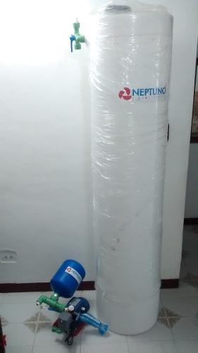 Tanque De Agua Para Apartamento Cilindrico Nuevos Completo