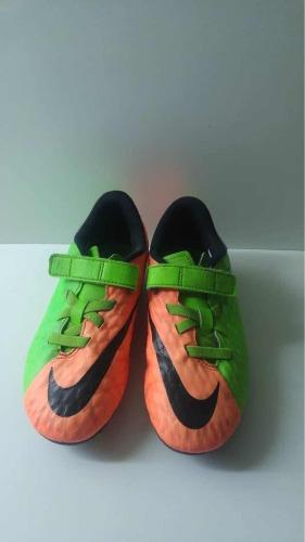 Zapatos De Fútbol Para Niños Tacos Nike Talla 31 Usados