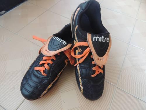 Zapatos Fútbol Tacos Niño Mitre Talla 35