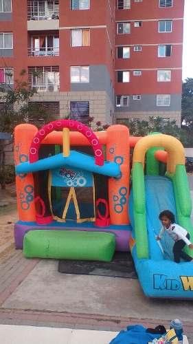 Colchon Inflable Para Niños Hasta 7 Años De Edad