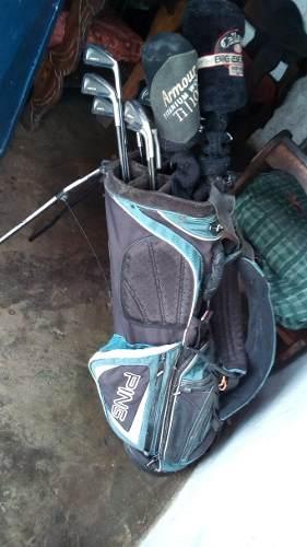 Maleta De Golf Ping Con Palos De Golf Callaway, Y Cobra