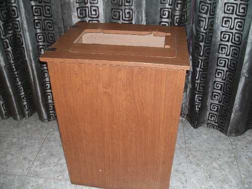 Mueble, Caja, Para Máquina De Coser, En Fórmica, Usada
