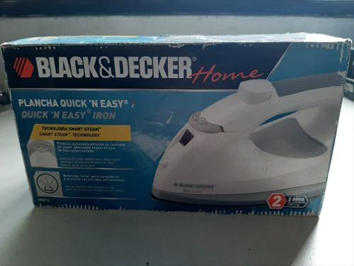Plancha Black & Decker Quick 'n Easy. Modelo Im415. Nueva.