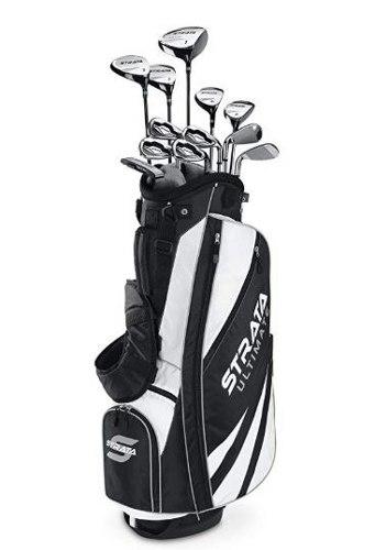 Set De Palos De Golf Callaway Strata Ultimate Completo