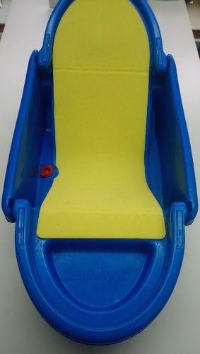 Bañera Safety 1st Azul Plegable, Usada