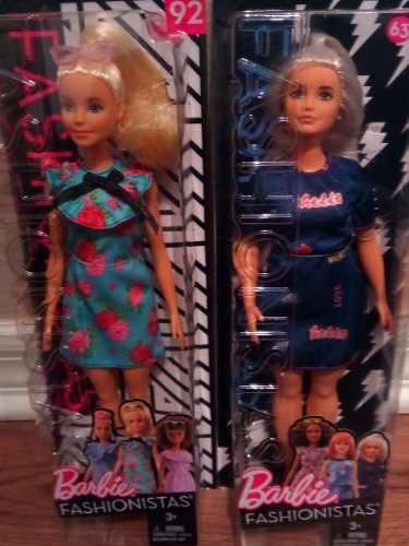 Barbie Fashionista 100% Original Mattel