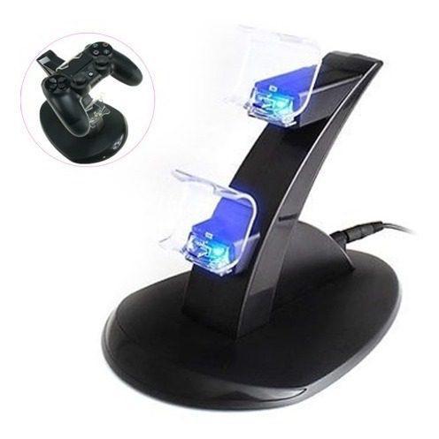 Base De Carga Para 2 Controles De Playstation 4 Ps4