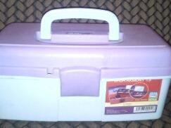 Caja Organizadora Con Espejo Armony 13 Alfa Hogar Usada