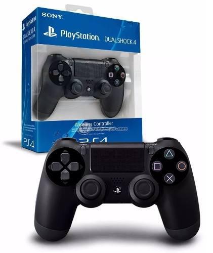 Control Ps4 Playstation Sony Dualshock Negro Nuevo Original