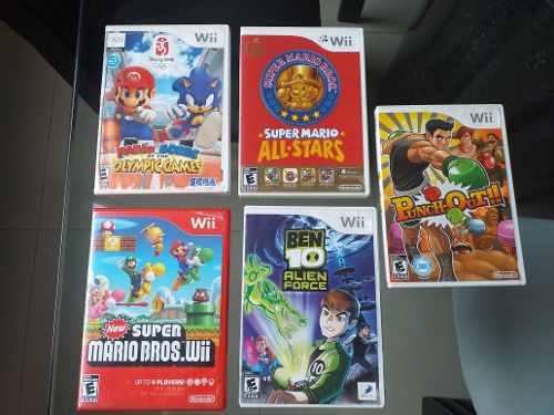 Juegos De Wii, Originales Usados