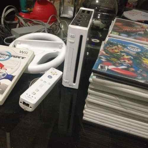 Nintendo Wii Con 50 Juegos + Mezcladora