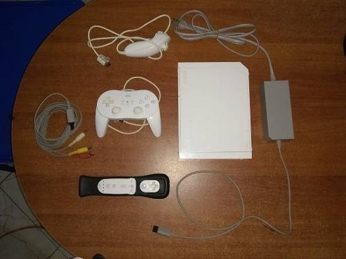 Nintendo Wii Original, Con Accesorios Más Juegos