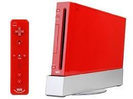 Nintendo Wii Rojo 5 Juegos Originales 2 Controle Memlri Card