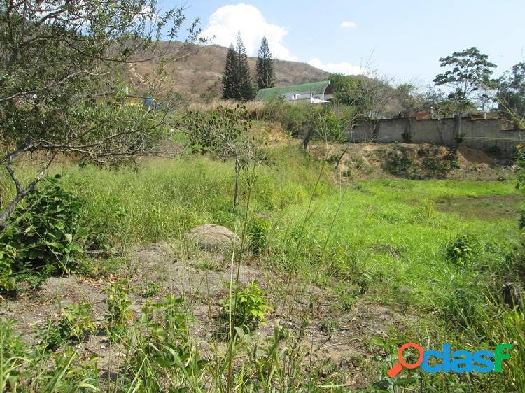 Parcela de Terreno urbanización Carialinda, area 1087 m2.
