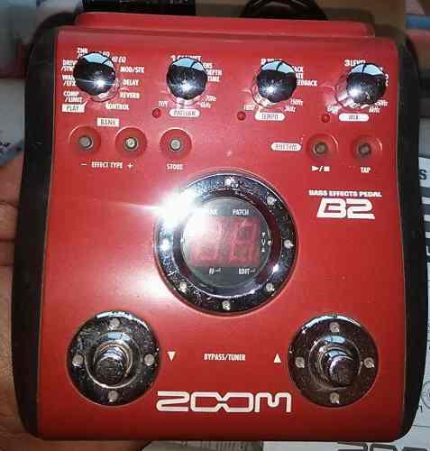 Pedal De Efectos Bass Zoom Modelo B2.