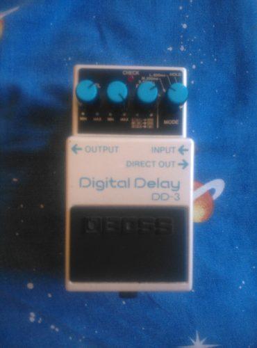 Pedal Guitarra Electrica Digital Delay Dd3 Boss