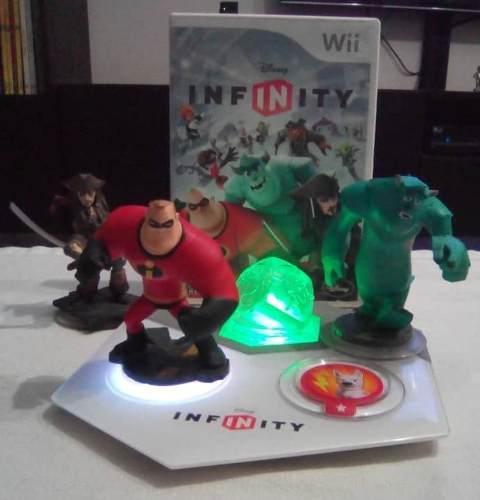 Starter Pack De Disney Infinity 1.0 Para Wii Juego Original