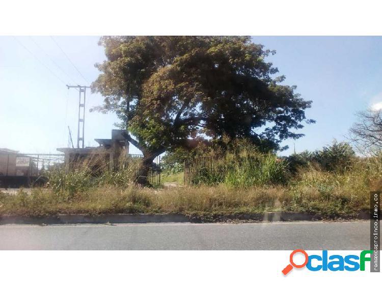 Terreno en Prolongación Av. Aragua en Maracay