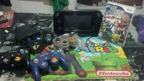 Vendo O Cambio Wii U Gamepad + Adaptador De Control Gamecube