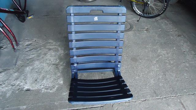 Vendo silla plegable plástica