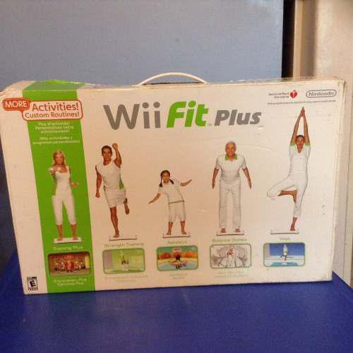 Wii Fit Plus Tabla Mas Juego Original Perfecto Estado