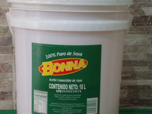 Aceite Comestible Paila 18 Litros Y Mas